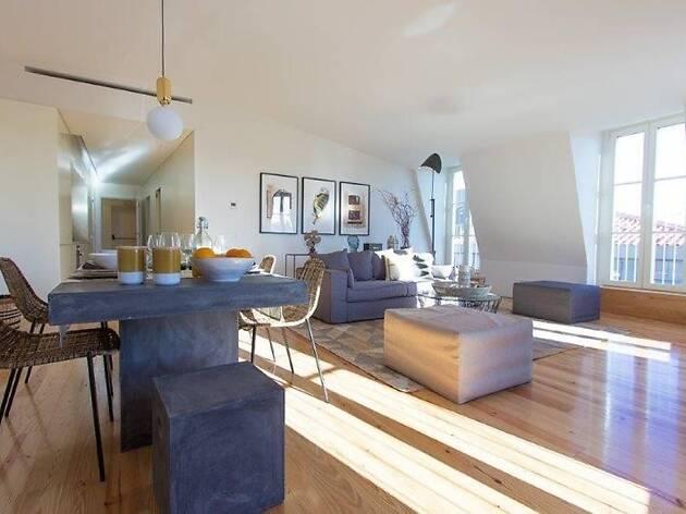 Airbnb Lisbon, Penthouse