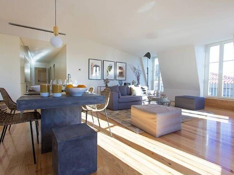 Perfectly located penthouse, Cais do Sodré