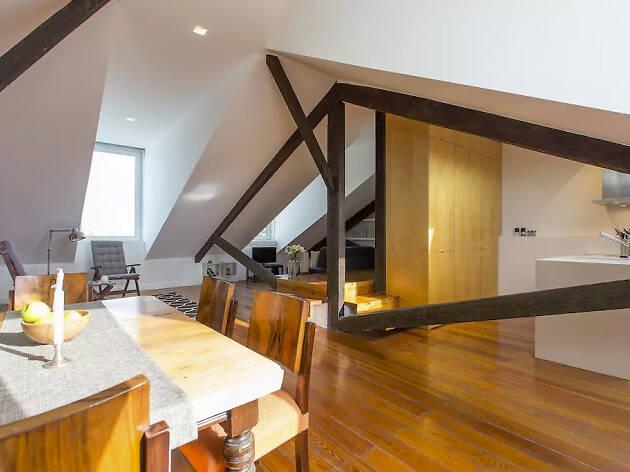 Airbnb Lisbon, Principe Real loft