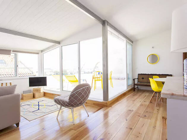 Airbnb Lisbon, Principe Real rooftop