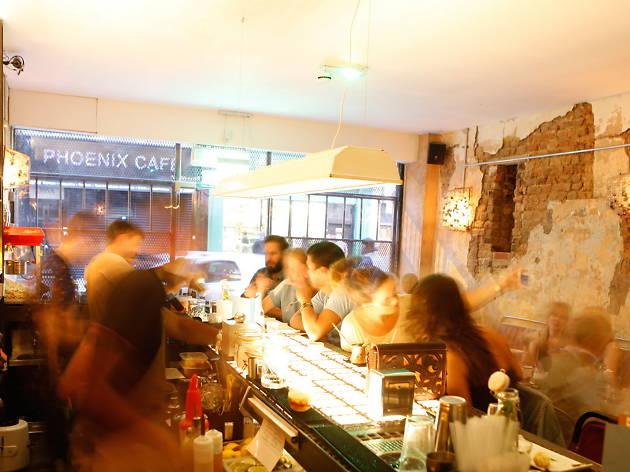 brixton bars, three eight four