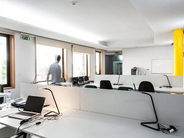 O PortoSoul Coworking fica perto de São Bento