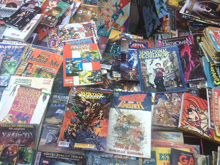 Comic's Rock Show: Tianguis de cómics, videojuegos y juguetes