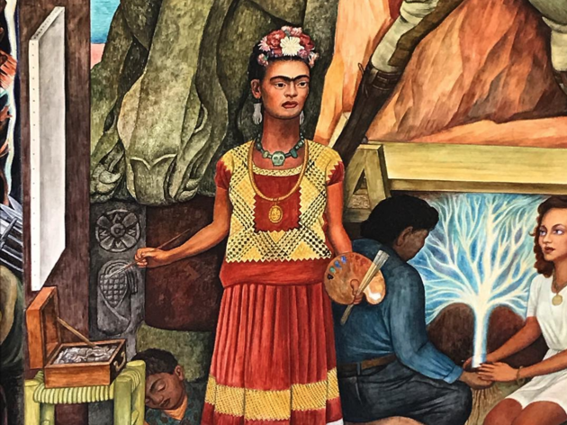 Frida Kahlo, San Francisco mural