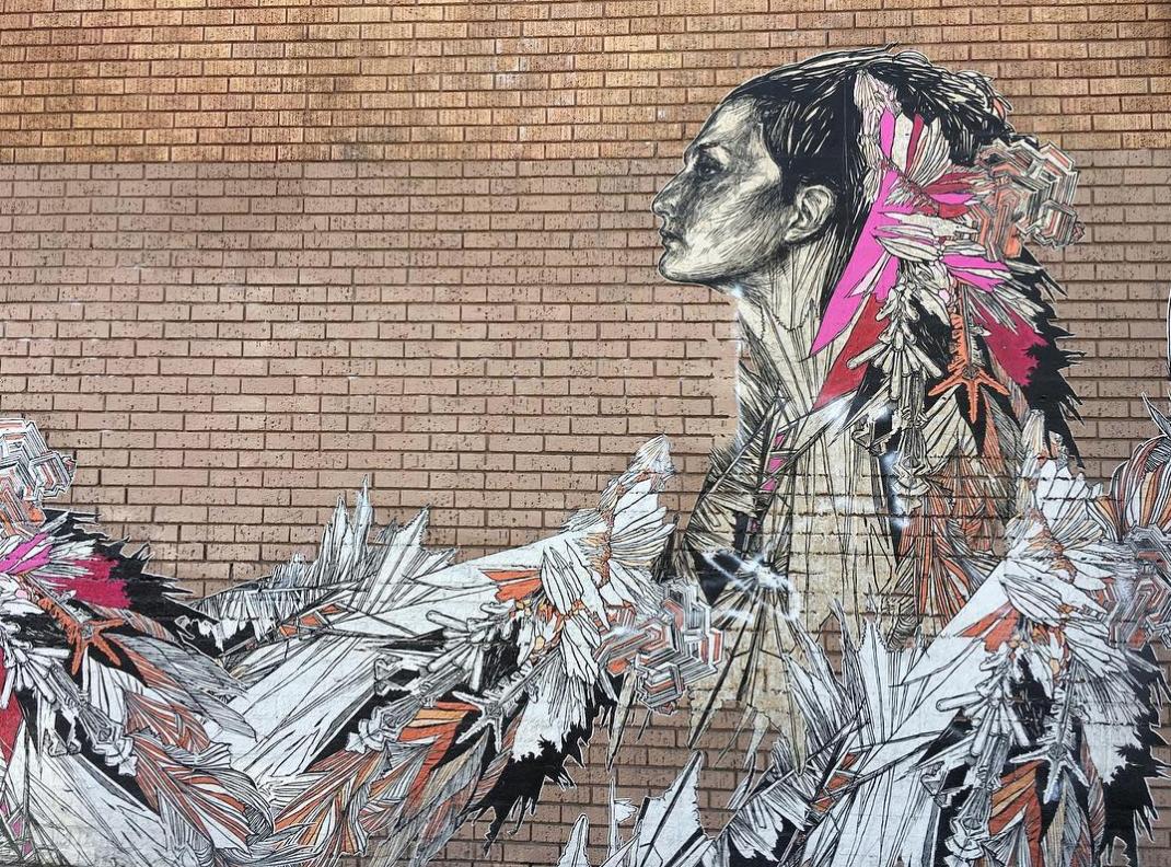 Olivia mural Mission
