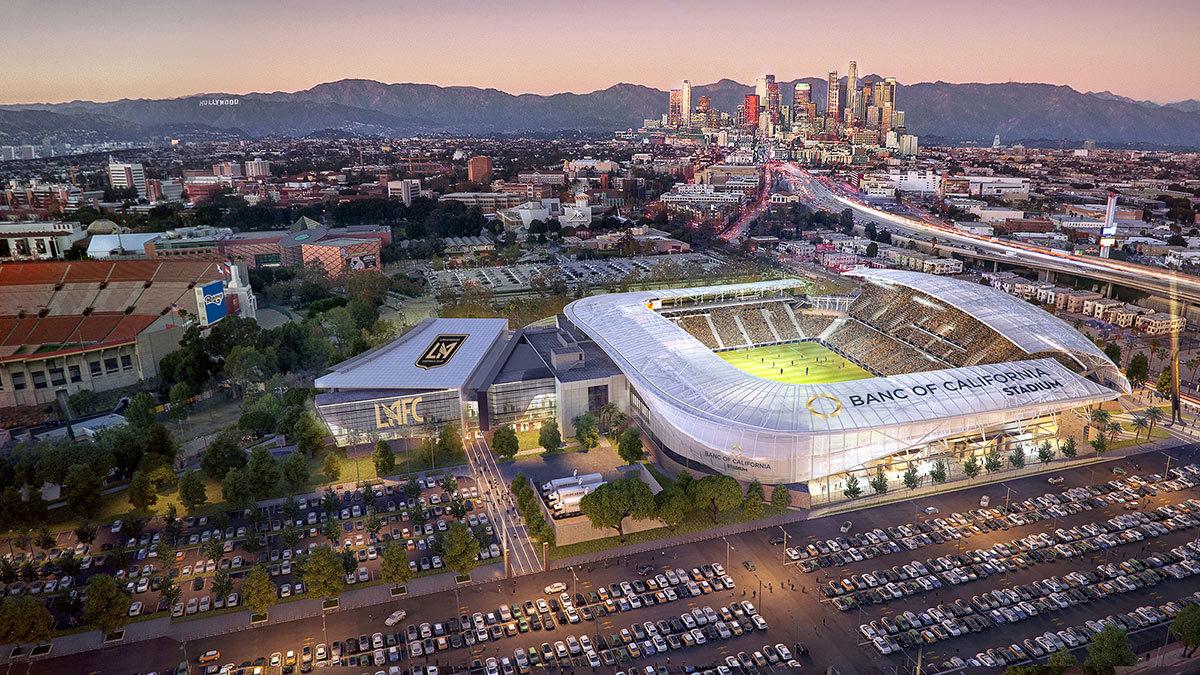 Los Angeles Football Club plays its inaugural season.