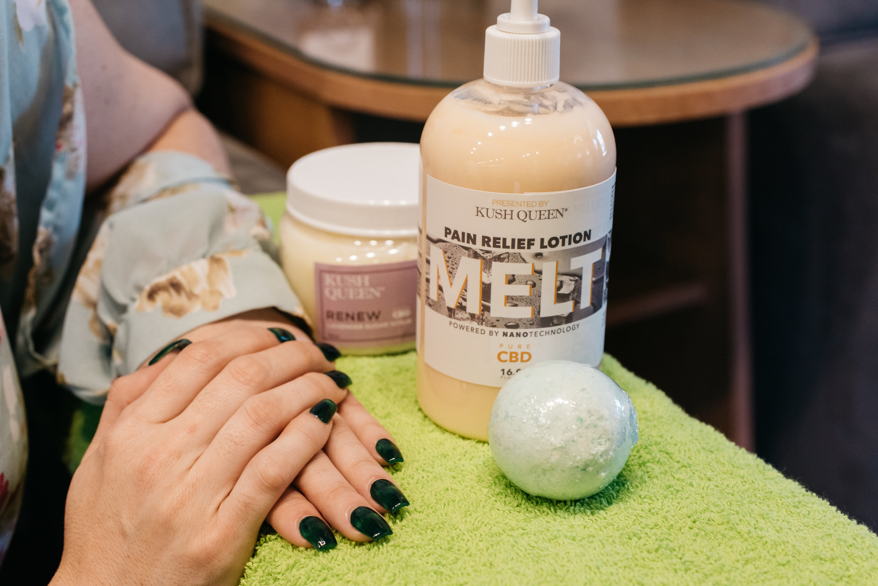 Cannabis will creep into beauty and wellness routines.