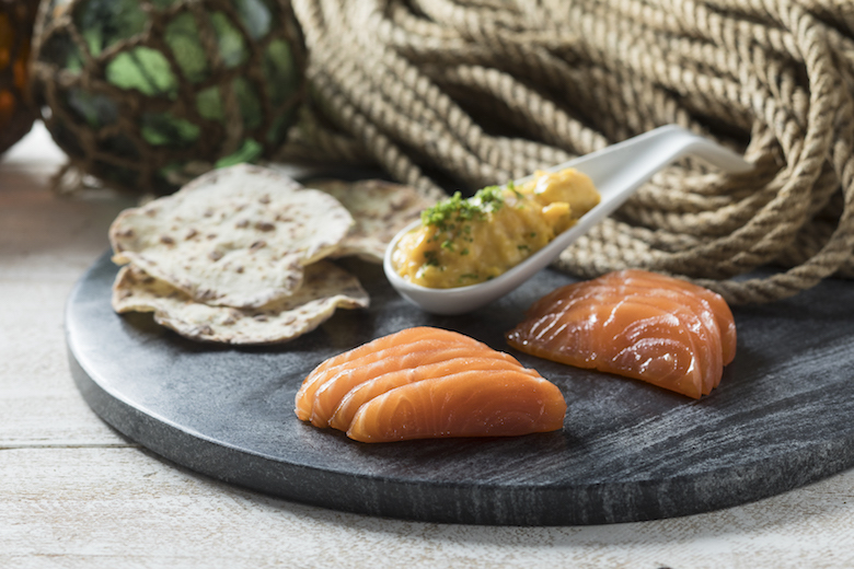 Pulpit Rock smoked salmon from Fisk