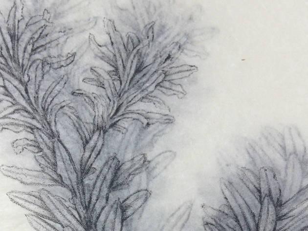 Catherine Pilgrim artwork for 'Mrs Larrit in Upside Down Country' (detail)
