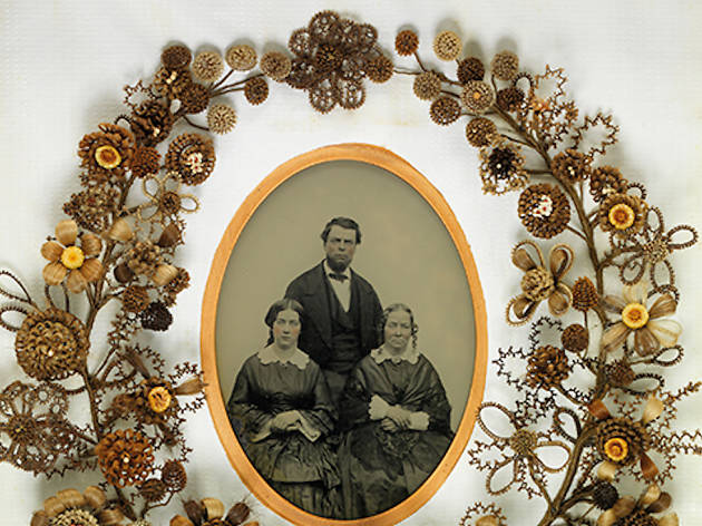 """Woven Strands: The Art of Human Hair Work"""