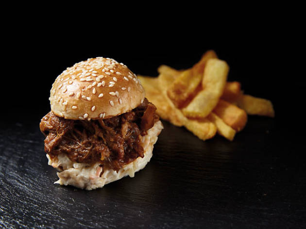 Hamburguesita de pulled pork