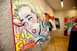 Paint the Town exhibit