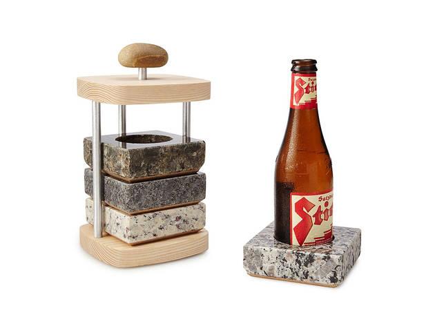 Beer Chilling Coaster Set