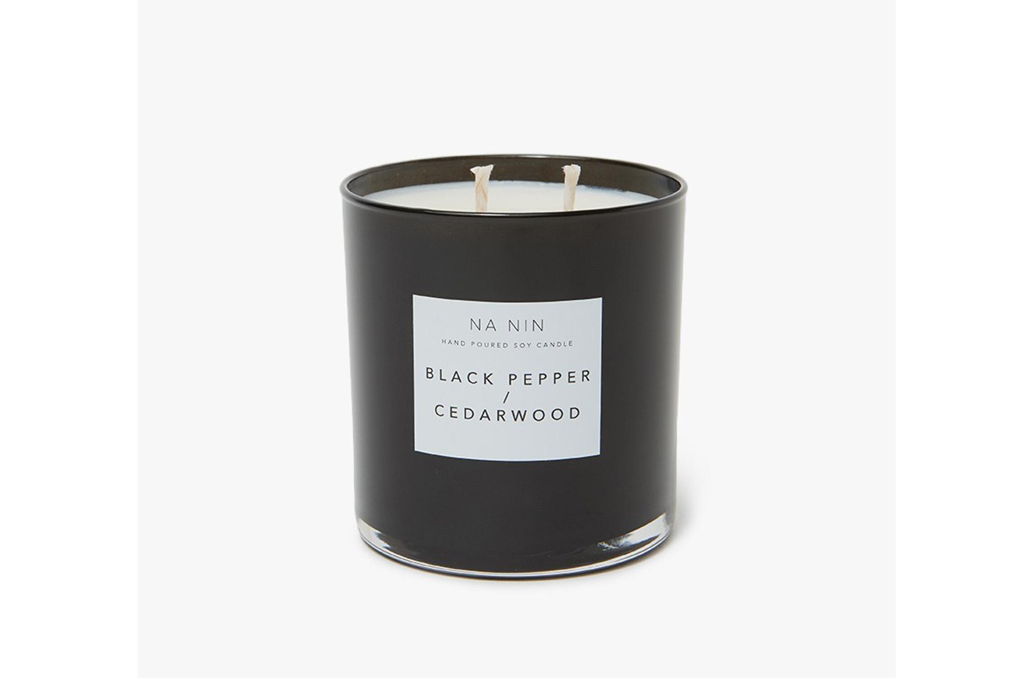 Na Nin Black Pepper and Cedarwood Candle