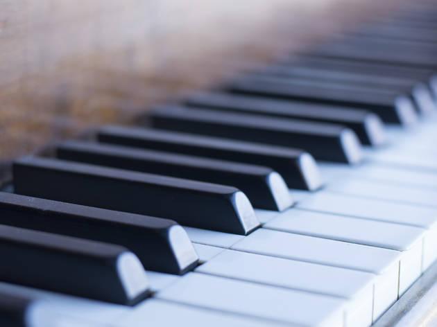 Hear indie stars play piano ballads