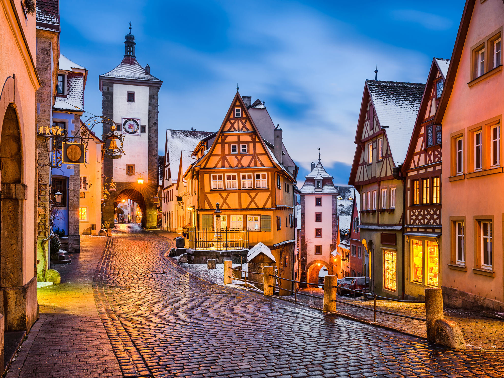 Altstadt street scene