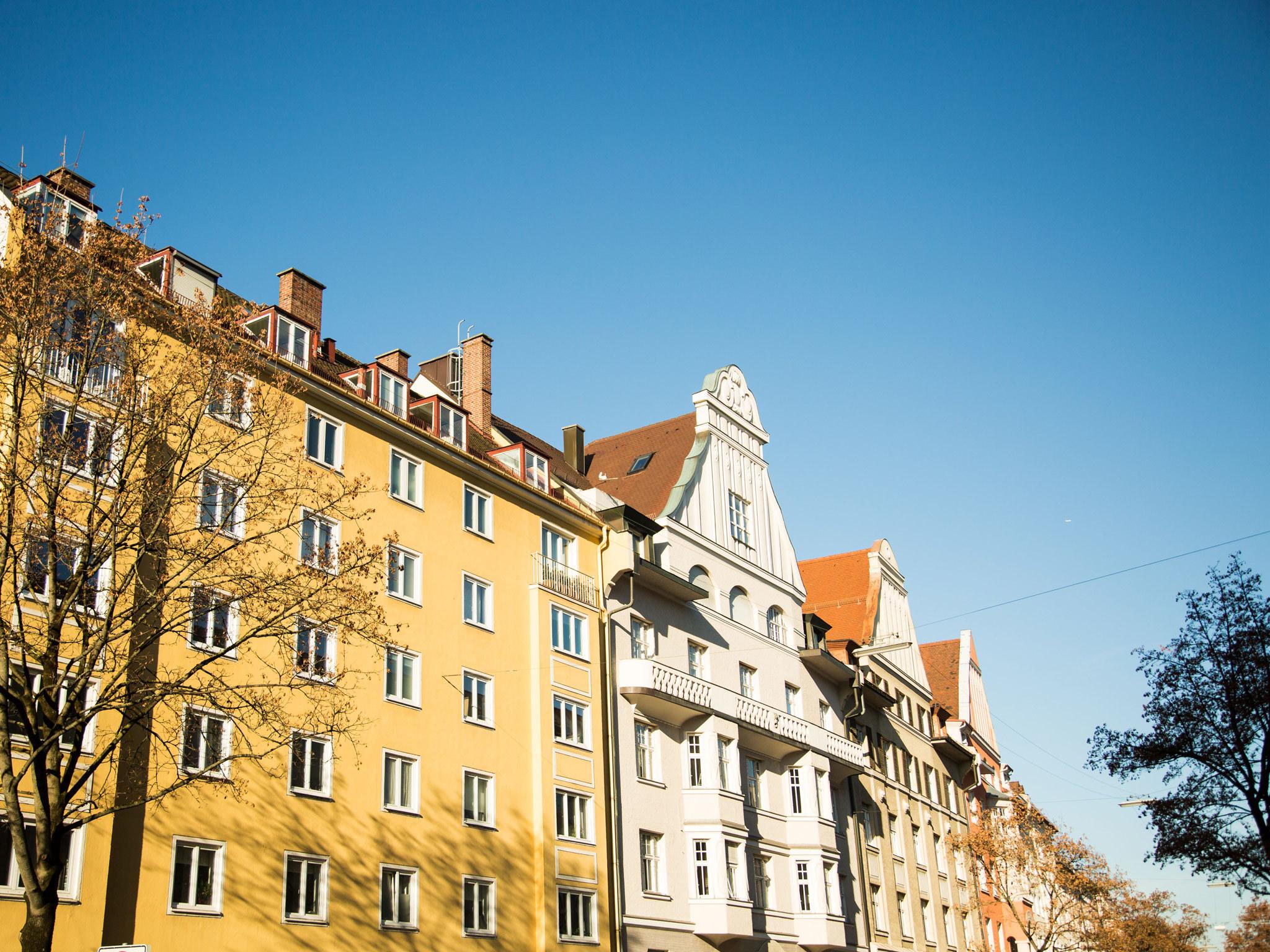 Schwabing street scene
