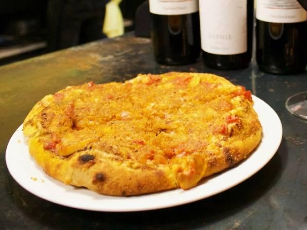 pizza sfincione de María Ciento 38