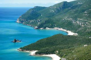 Arrábida, Serra, Mar, Vista, Praia