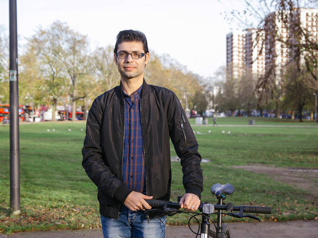 Mustafa, resettled refugee