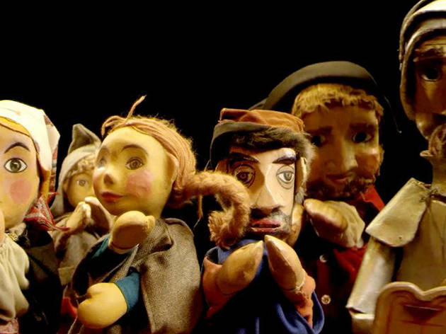 Don Quijote y el titiritero (Foto: Cortesía Centro Cultural Helénico)