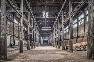 Check out photos of the old Domino Sugar Factory before it turns into a gentrifier's Xanadu