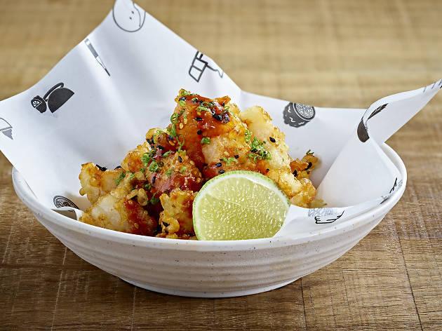 Fried Shrimp at Inko Nito