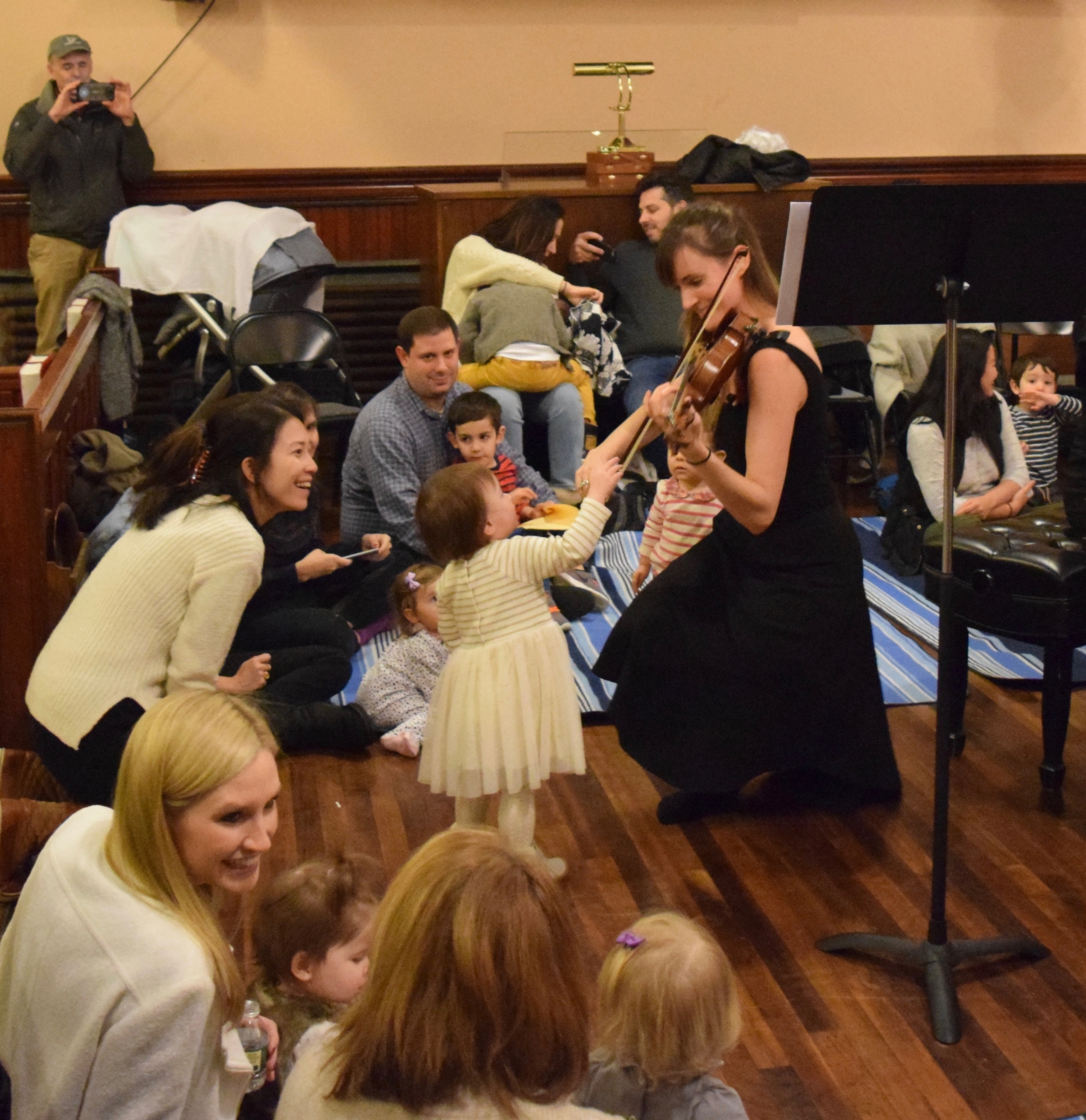 Mozart for Munchkins at Steinway Hall