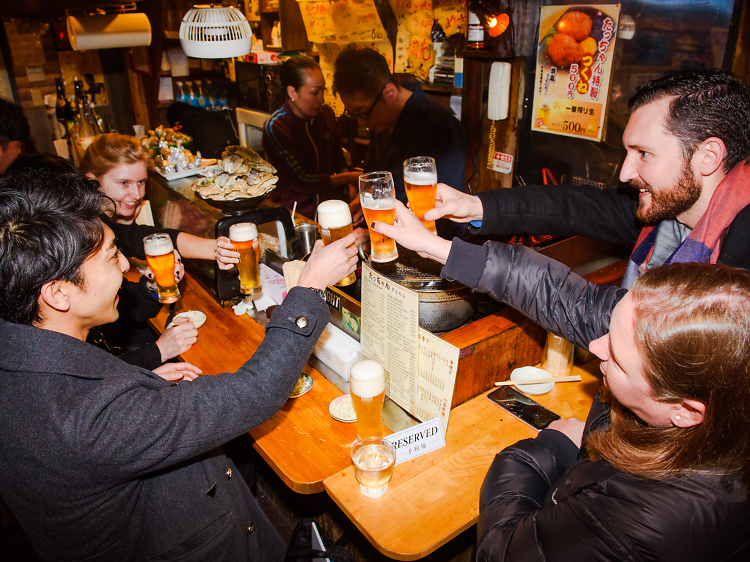There's nothing better than bar-hopping around Tokyo