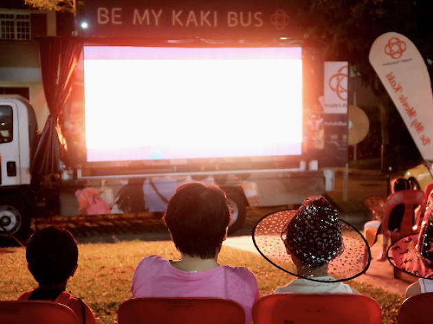 Be My Kaki Movie Bus