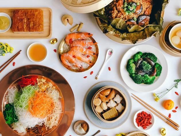 CNY buffet at Sky 22