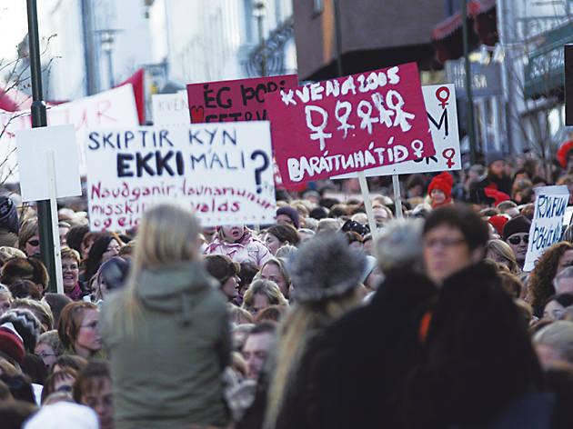 Igualtat de sous a Islàndia