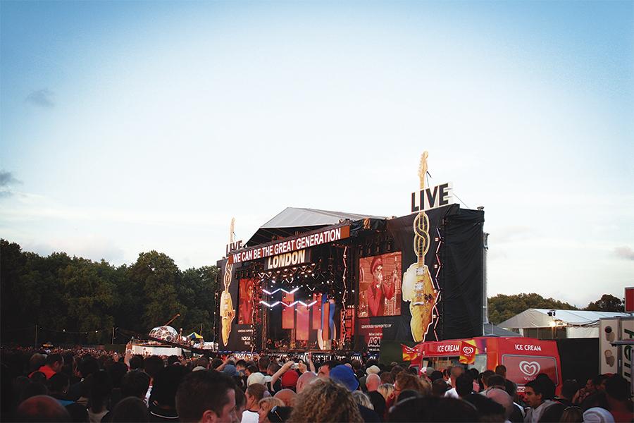 Concert a Londres