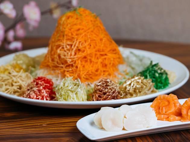 CNY menu at Man Fu Yuan
