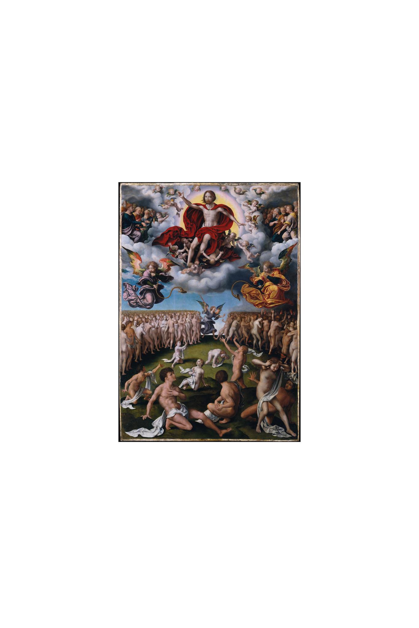 Joos van Cleve, The Last Judgment, ca. 1520–25