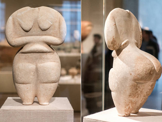Marble female figure, 4500–4000 B.C.