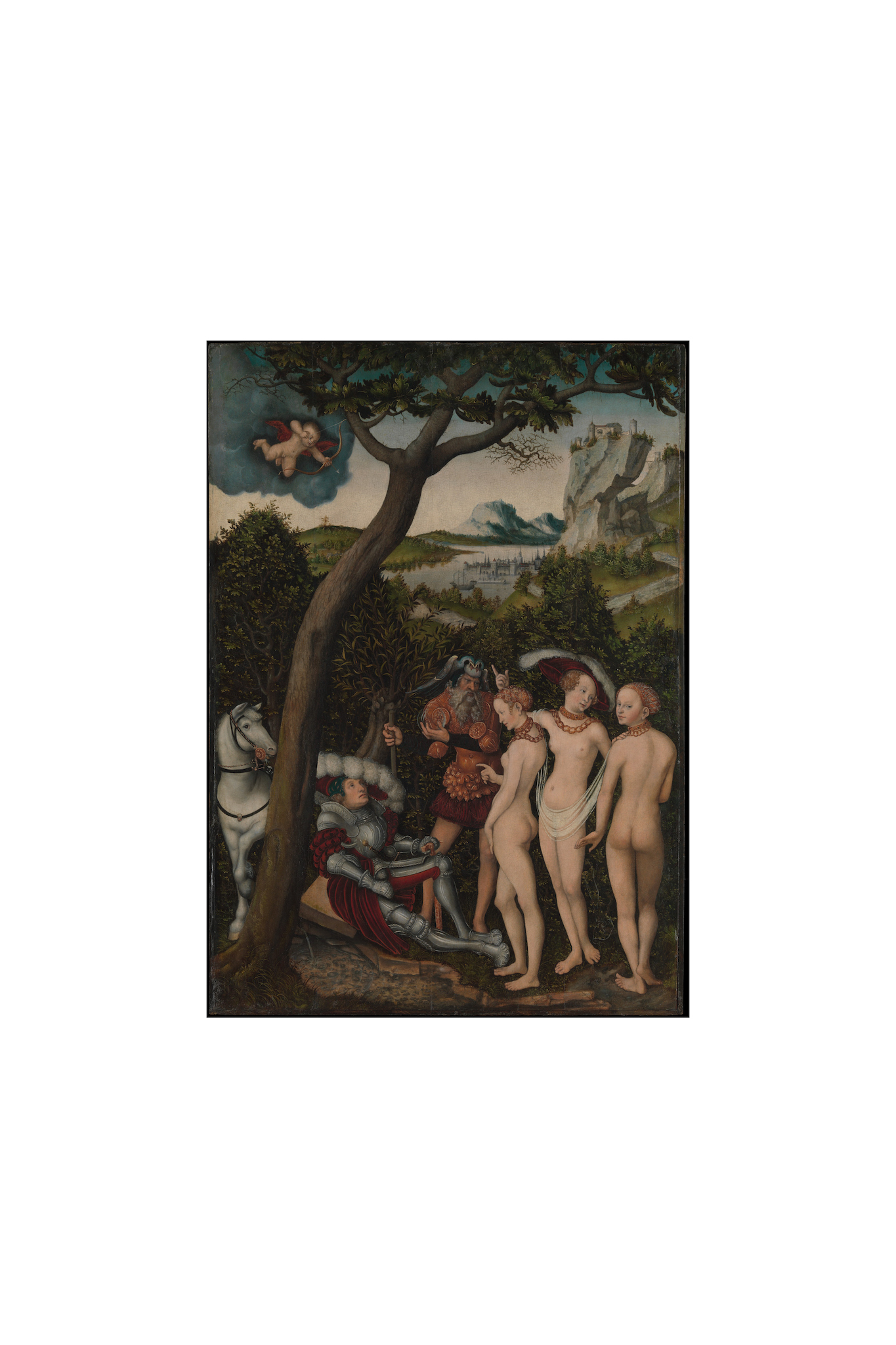 Lucas Cranach the Elder, The Judgment of Paris, ca. 1528
