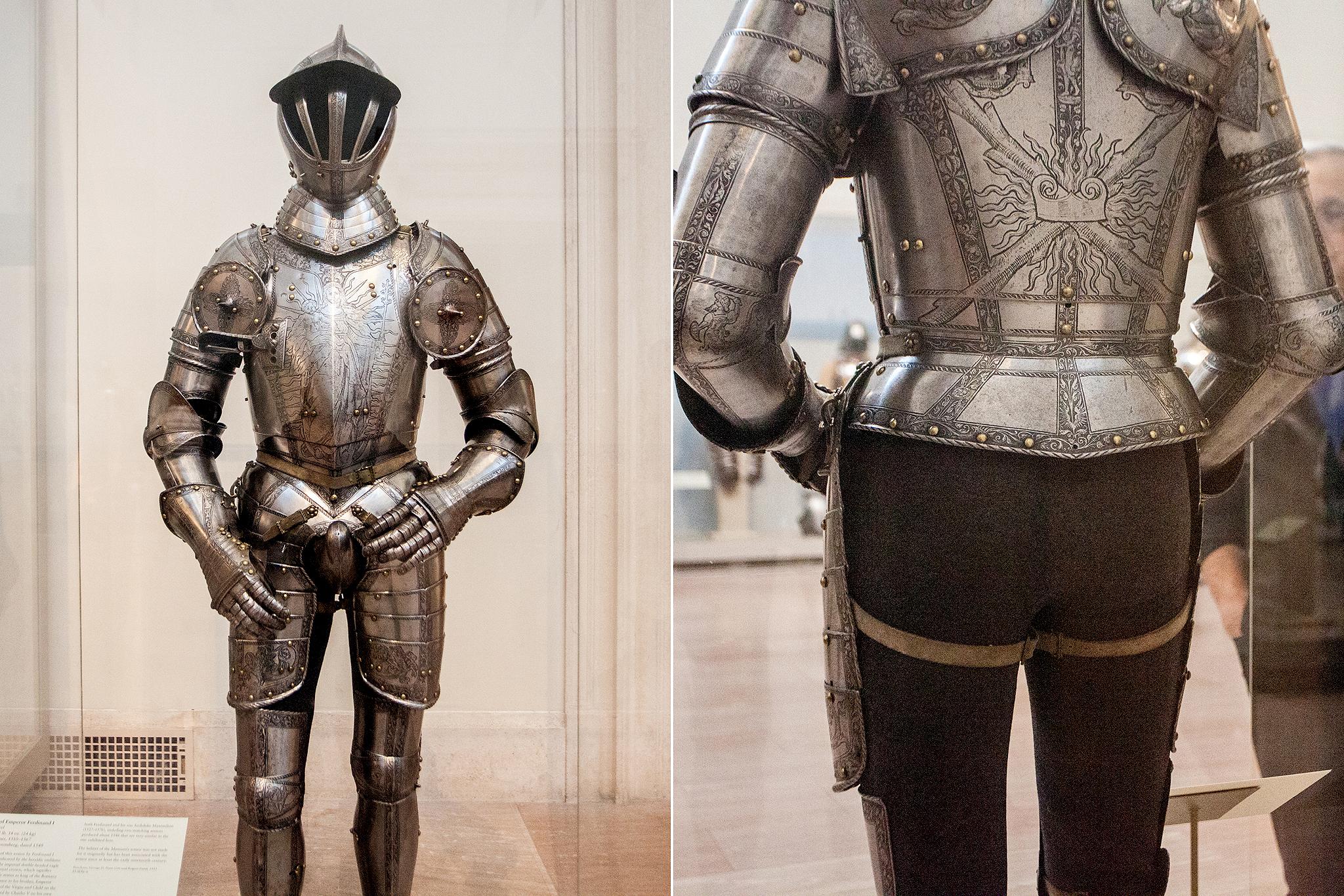 Armor of Emperor Ferdinand I, 1549