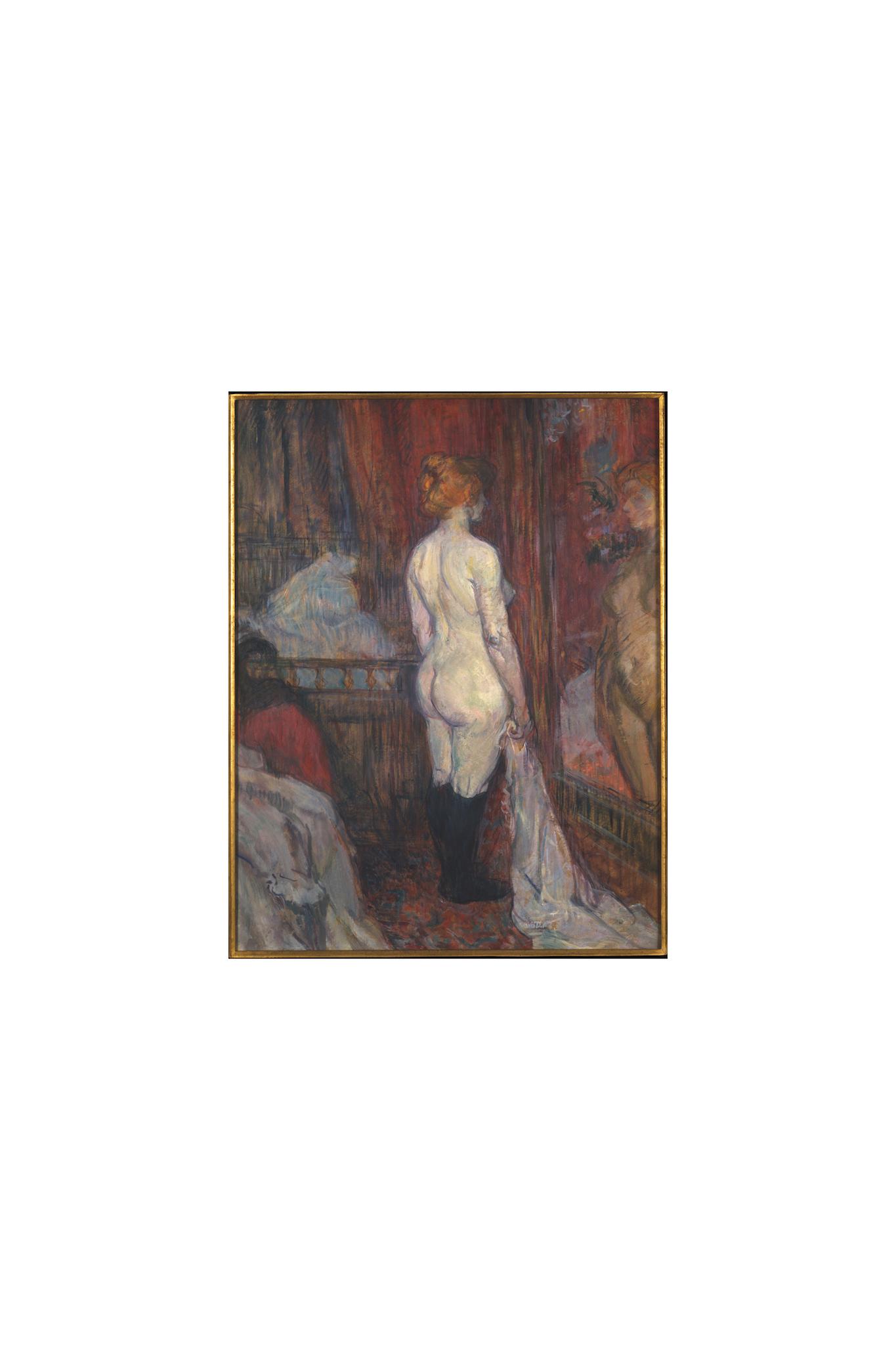 Henri de Toulouse-Lautrec, Woman before a Mirror, 1897