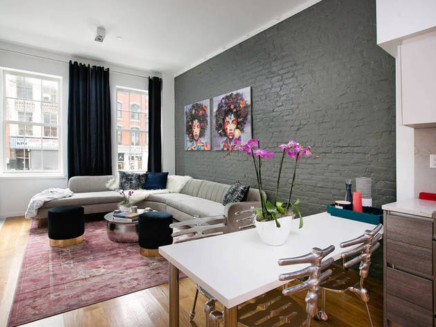 Soho Two-Bedroom With Private Terrace