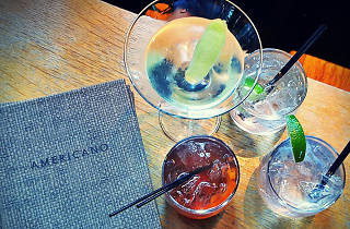 Cocktails at Americano