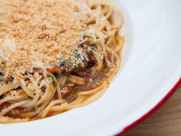Pasta de María Ciento38, cocina italiana, comida italiana