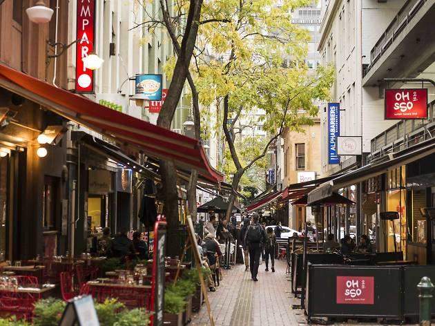 Italian Restaurant Collins Street Melbourne