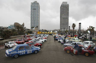 Monte Carlo Rally of historic cars