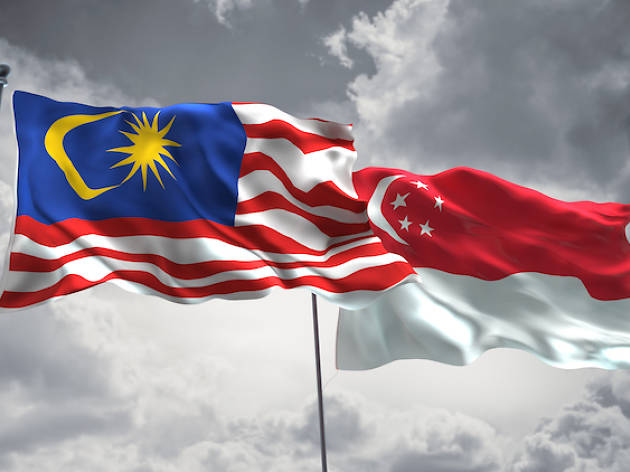 Is Singapore a part of Malaysia?