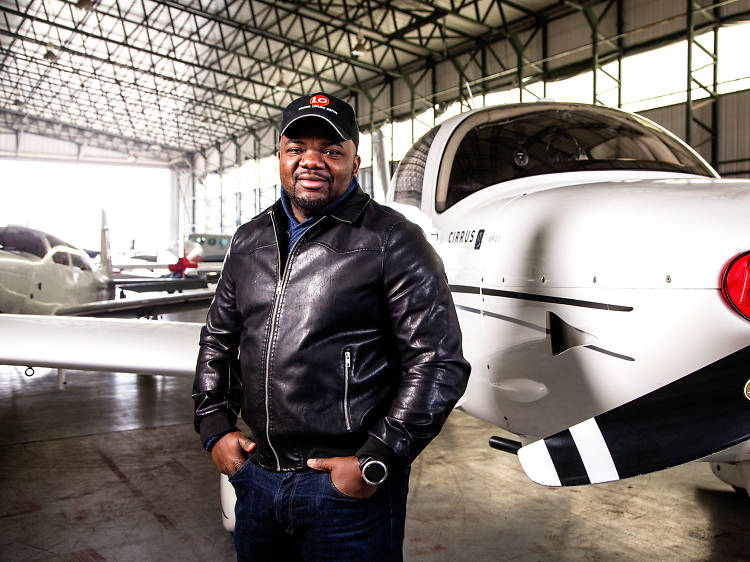 The south London pilot who became the first African to fly around the world