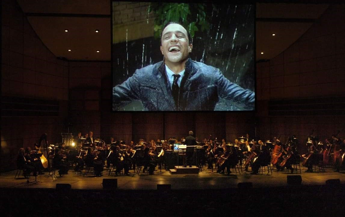 Singin' in the Rain amb orquestra
