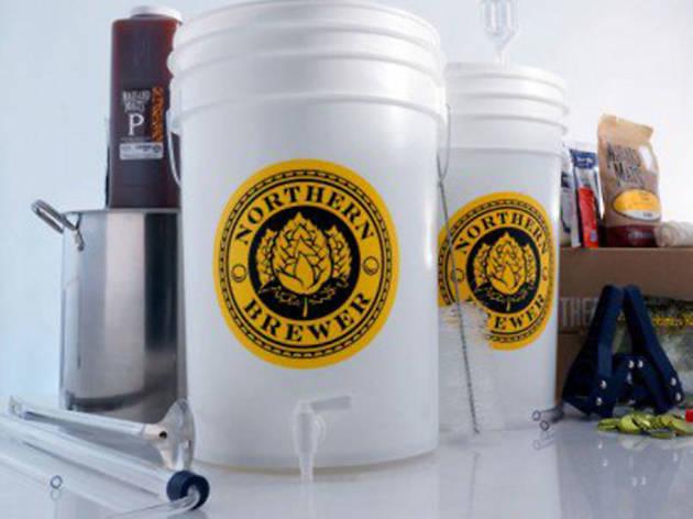 Homebrew starter kit from Northern Brewer