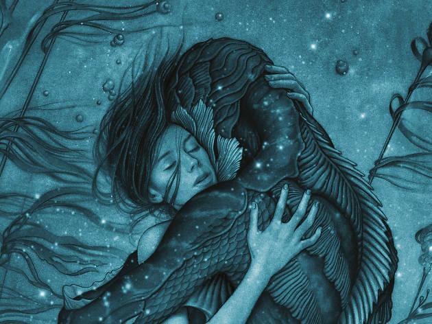 La forma del agua, película de Guillermo del Toro