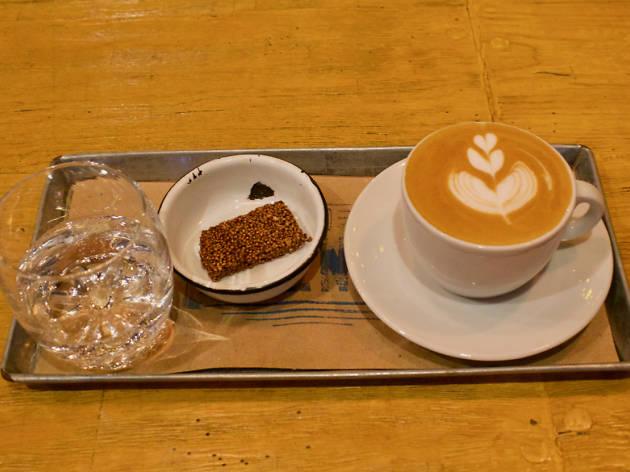 Flat white de Centro Café